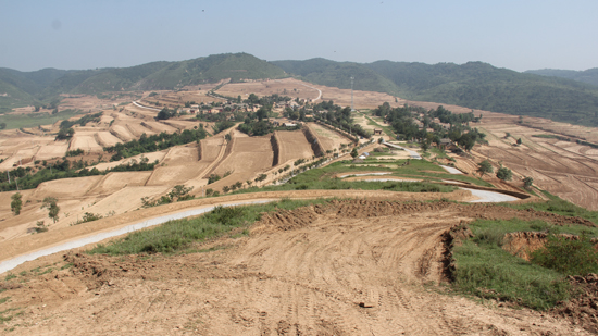 礼泉县昭陵社区药王洞社区刘东村14村高标准农田建设勘测设计项目