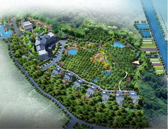 东晋桃园秦隆现代农业观光园建设项目规划设计