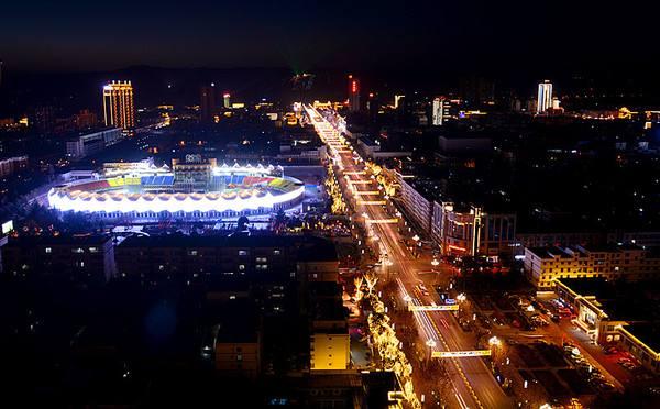 """2017-2021中国˙韩城""""一带一路""""国际灯光艺术节"""